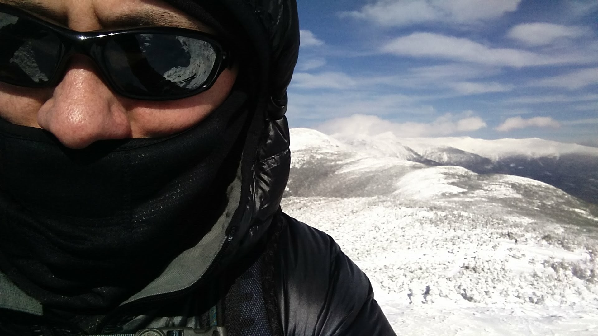 KB1JPW winter hiking
